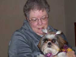 Mommy and Izzy, in Alabama