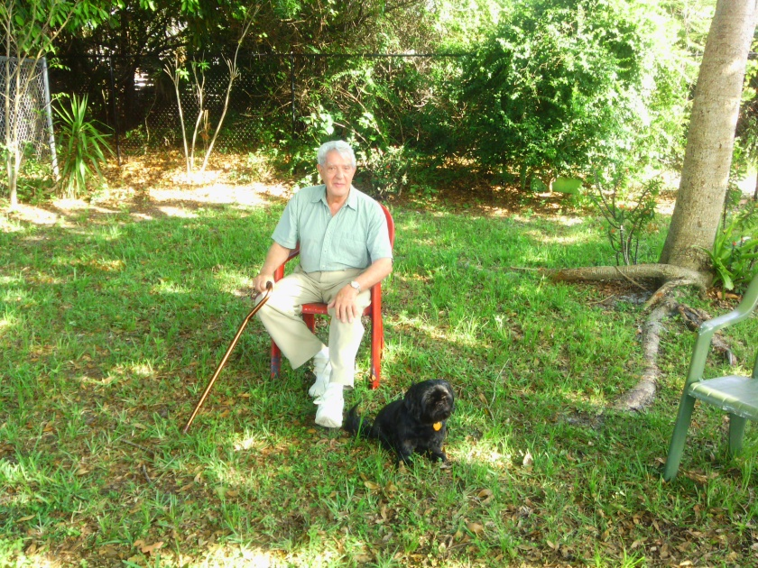 Dad and Kiko