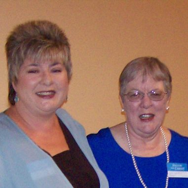mom and me at a JW Convention